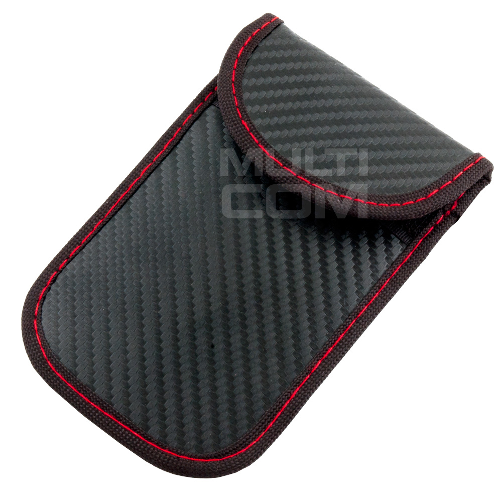 Case for car keys protector Keyless Carbon