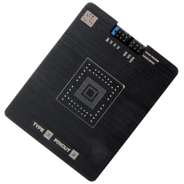 Socket for eMMC NAND adapter - MR TYPE 7 PINOUT 2