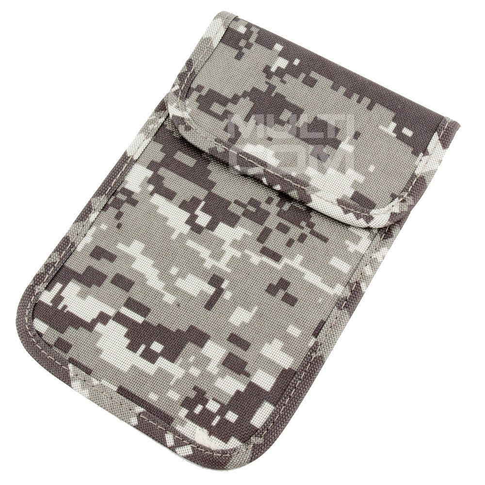 Phone case for locking signals GSM/LTE/WiFi/GPS MORO light grey