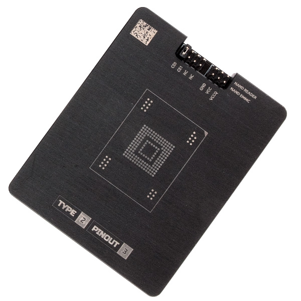Socket for eMMC NAND adapter - MR TYPE 2 PINOUT 3