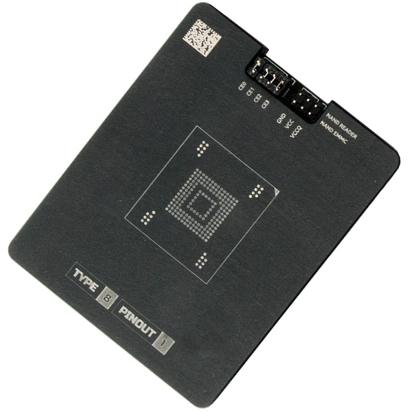 Socket for eMMC NAND adapter - MR TYPE 8 PINOUT 1