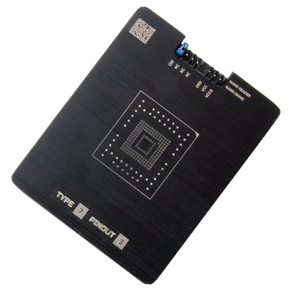 Socket for eMMC NAND adapter - MR TYPE 7 PINOUT 3
