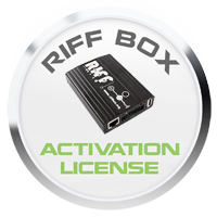 License Activation for RIFF Box