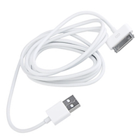 USB cable for iPod iPad, iPhone 4/4S/3/3G