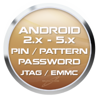 Read PIN/Password/Pattern Lock from Android 2.x.x-5.x.x (JTAG/eMMC)