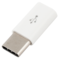 Adapter microUSB to USB Type C