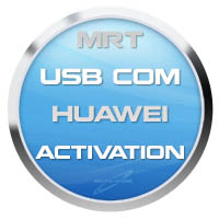Activation USB COM Huawei Flasher for MRT Dongle