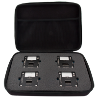 Set of MR-V (Vias) monolithic adapters for microSD cards - 4pcs.