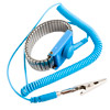 Anti-static wristband metal ground wire with a w/cord 2.0 m (XY-120103 blue)