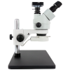 The trinocular H22-45T 7-45x stereoscopic microscope with a camera