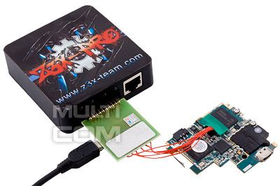 EMMC adapter for Easy Z3x JTAG Box