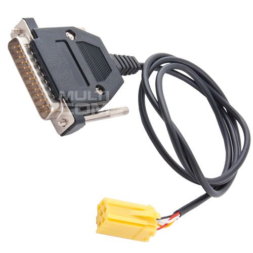 Renault Tuner List LCD Emulator Cable for Martech BOX III