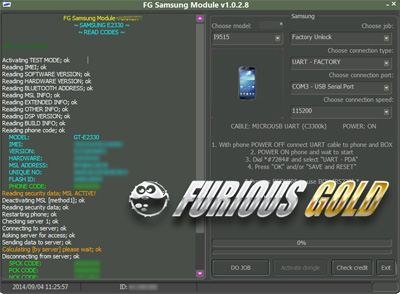 Samsung Code Reader PACK 12 Credits for Furious